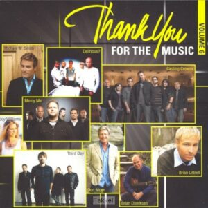 product afbeelding voor: Thank you for the music