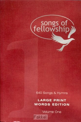 product afbeelding voor: Songs of fellowship 1 words large p