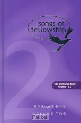 product afbeelding voor: Songs of fellowship 2 words large p
