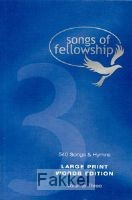 product afbeelding voor: Songs of fellowship 3 words large p