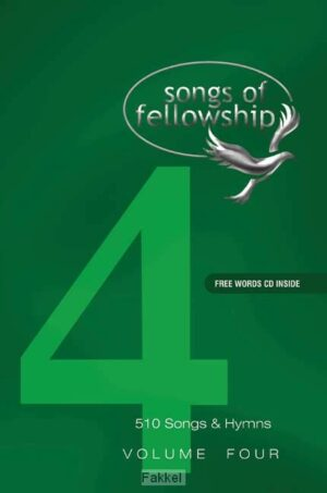product afbeelding voor: Songs of fellowship 4 music edition