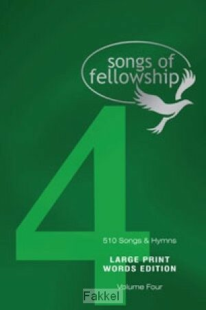 product afbeelding voor: Songs of fellowship 4 words large p