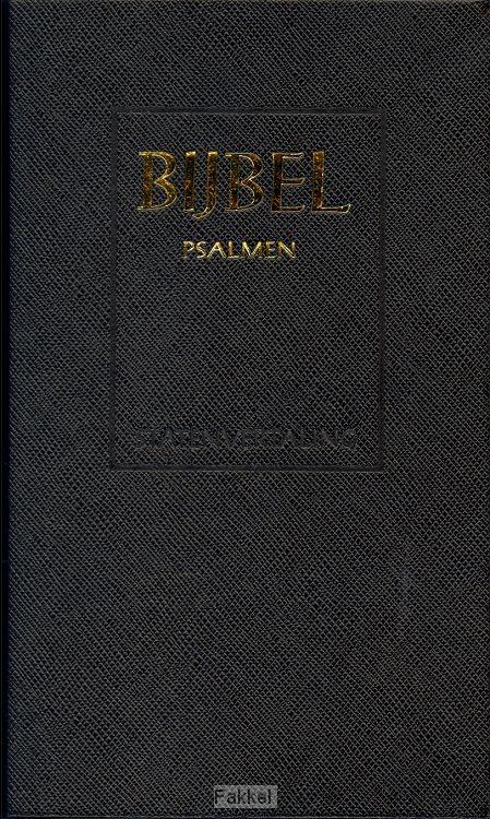 product afbeelding voor: Schoolbijbel SV zwart ps 12g nr witsnee