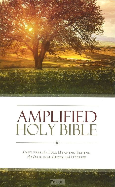 product afbeelding voor: Amplified Holy Bible hardcover