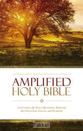 product afbeelding voor: Amplified Holy Bible paperback