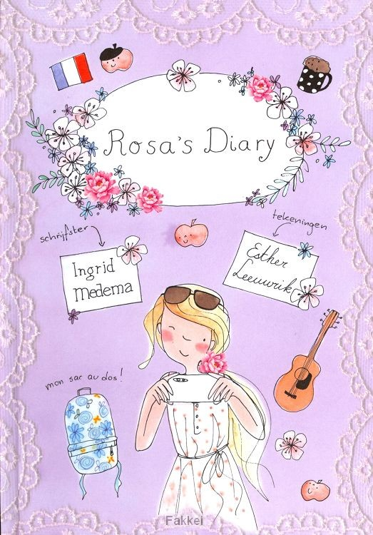 product afbeelding voor: Rosa's diary