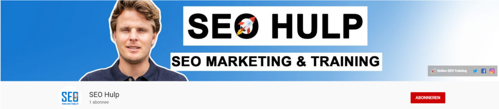 SEO Hulp Youtube